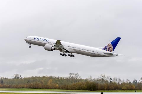 United Airlines 777-300ER