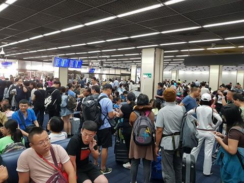 Don Mueang departure lounge