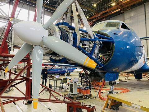 Yak-40 electric motor-c-CIAM