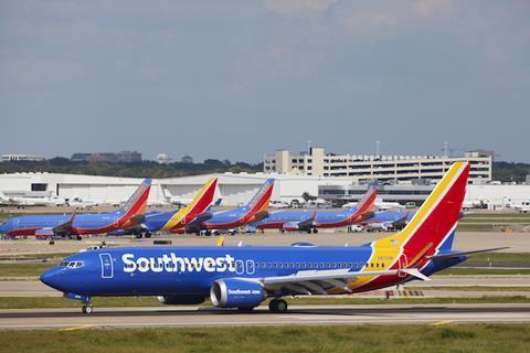 Southwest 737 Max 8
