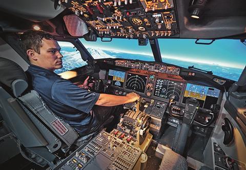 Полнопилотажный тренажер 737 Max