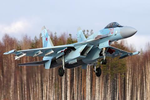 Russian air force Su-35