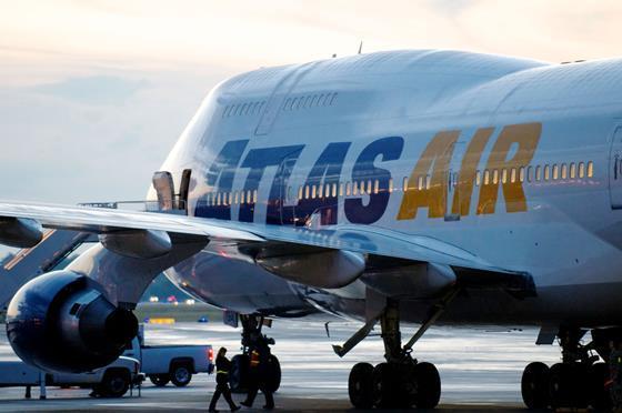 Atlas Air 747. Atlas