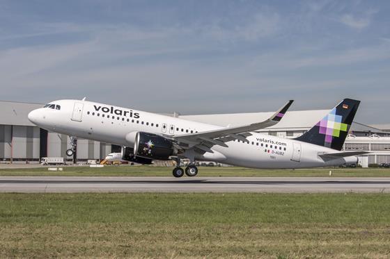 Volaris Airbus A320neo (2016)