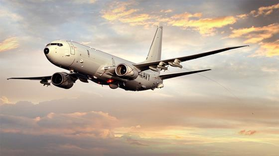 Rendering of BAE Systems decoy on P-8A Posiedon c BAE Systems
