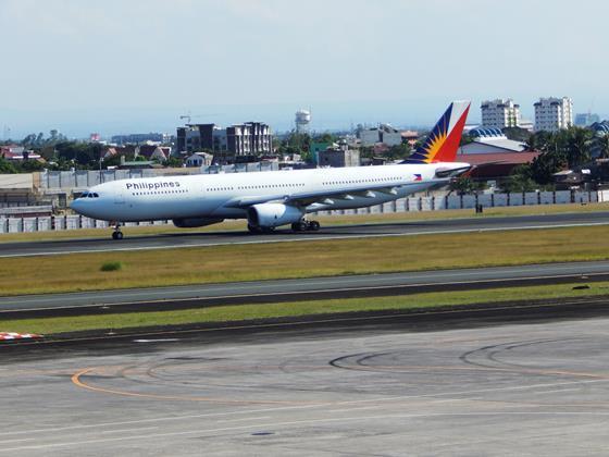 PAL A330 Manila
