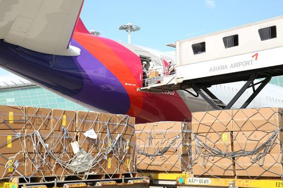 Asiana A350 modified freighter