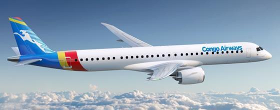 Congo E195-E2-c-Embraer