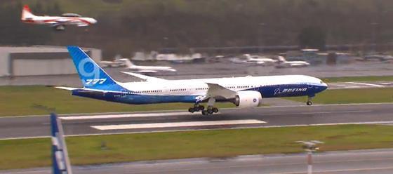 777X landing