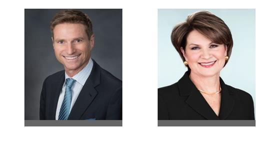 James Taiclet and Marillyn Hewson