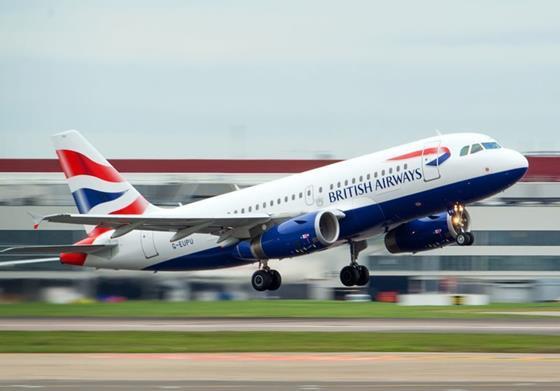 BA A319-c-Heathrow Airport
