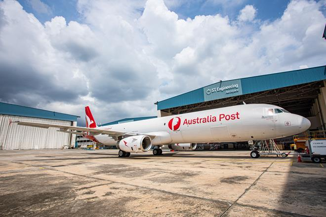 First A321P2F by ST Engineering Airbus and EFW Enters into Service