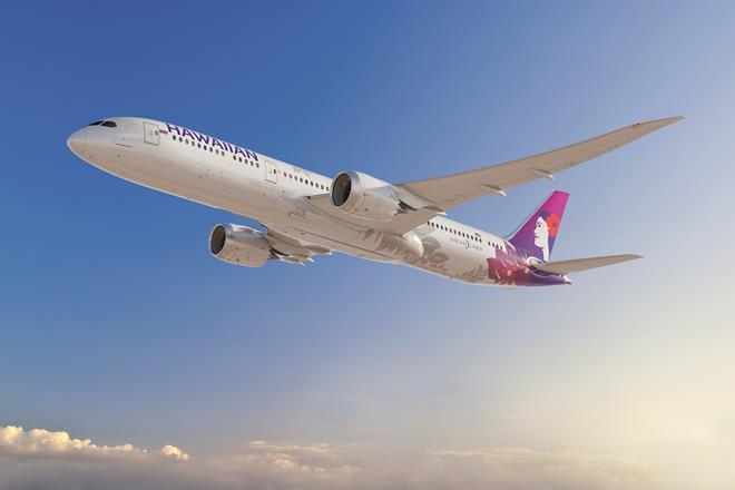 Boeing 787-9 Hawaiian Air