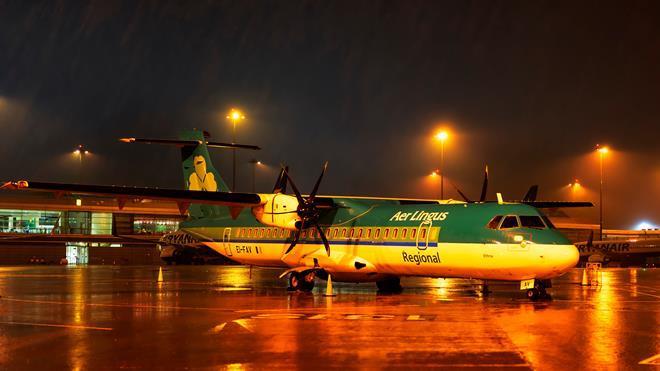 Stobart Air ATR 72 in Aer Lingus regional colours