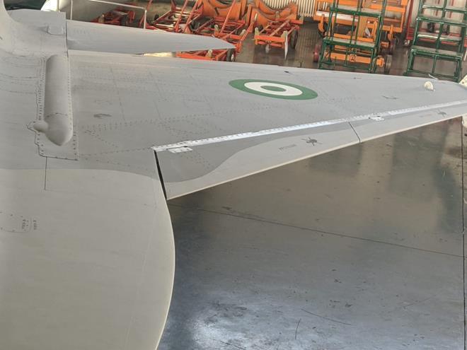 Nigerian JF-17 wing