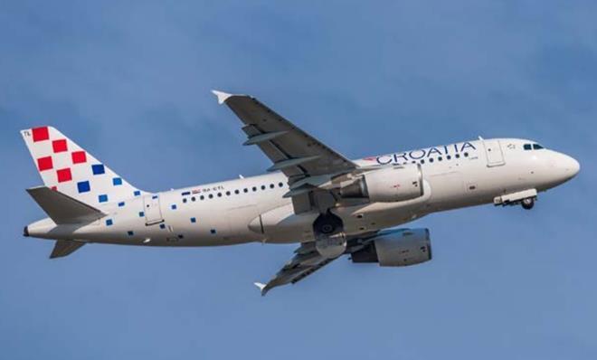 Croatia Airlines Airbus-c-Croatia Airlines