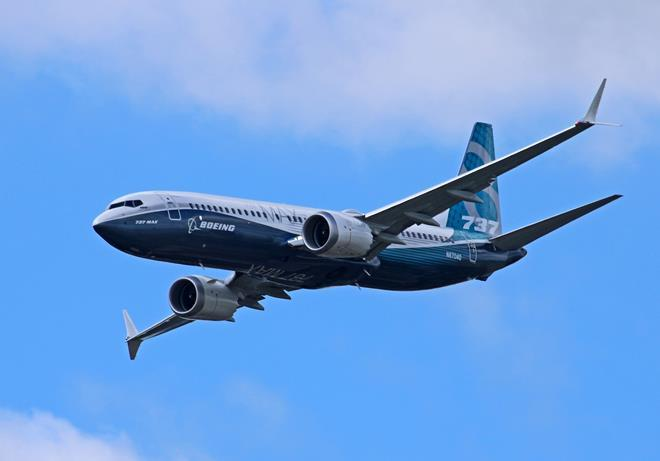 Boeing 737 Max 8 house colours 1