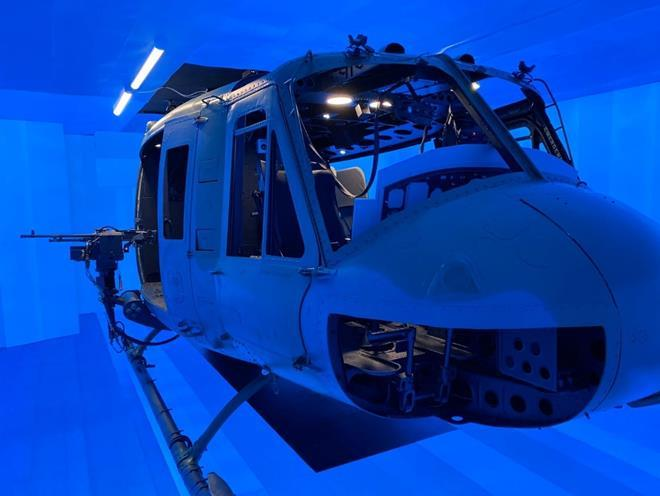 Kratos Aircrew Combat Mission Training system for UH-1