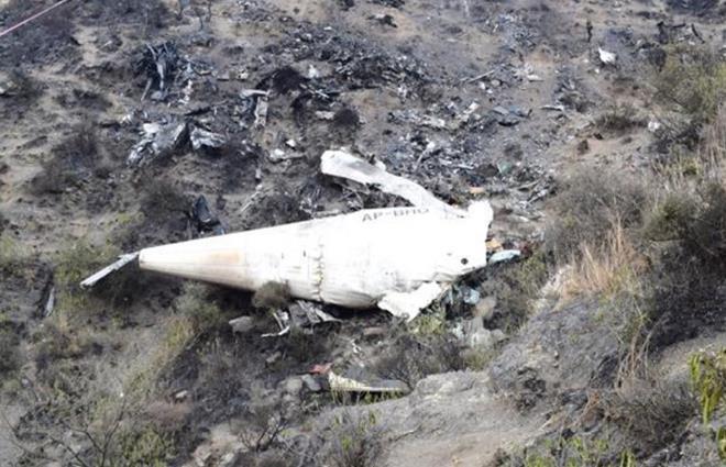 PIA ATR wreckage-c-AAIB Pakistan