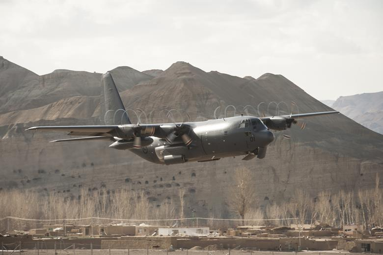 A Royal New Zealand Air Force C-130H