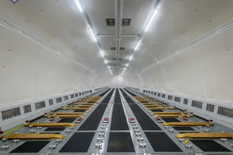 A321P2f cabin interior