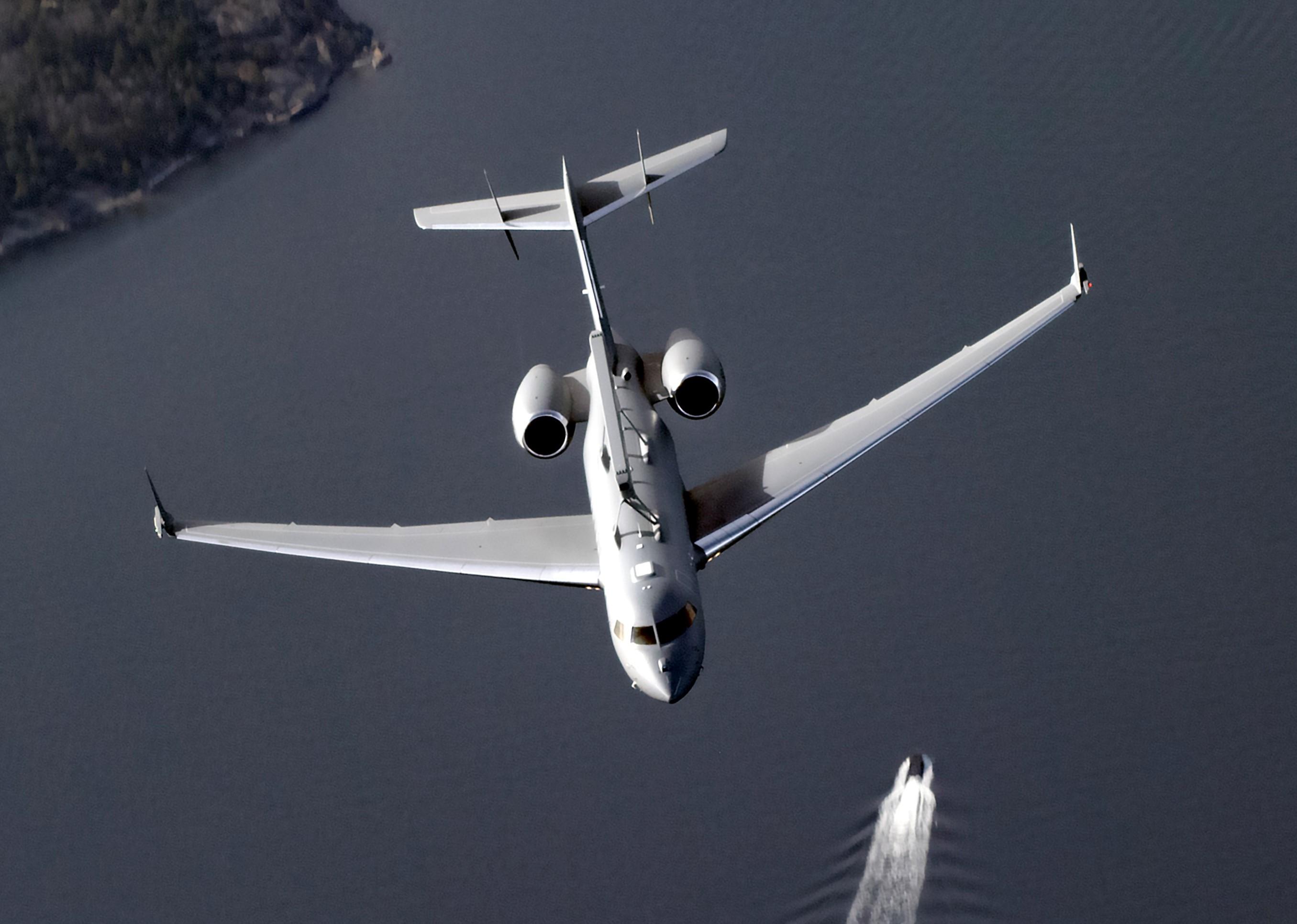 UAE receives third GlobalEye surveillance aircraft