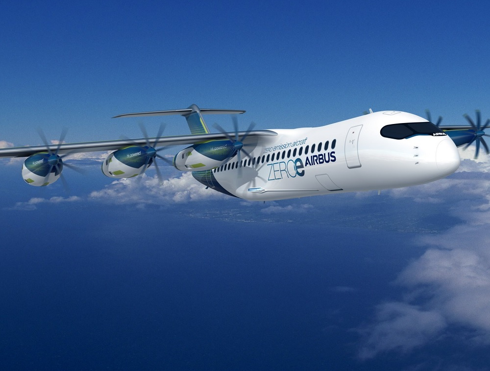 Airbus explores self-contained fuel-cell propulsors for zero-emission aircraft