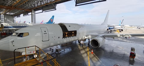 GAMECO to open up third 737-800 freighter conversion line
