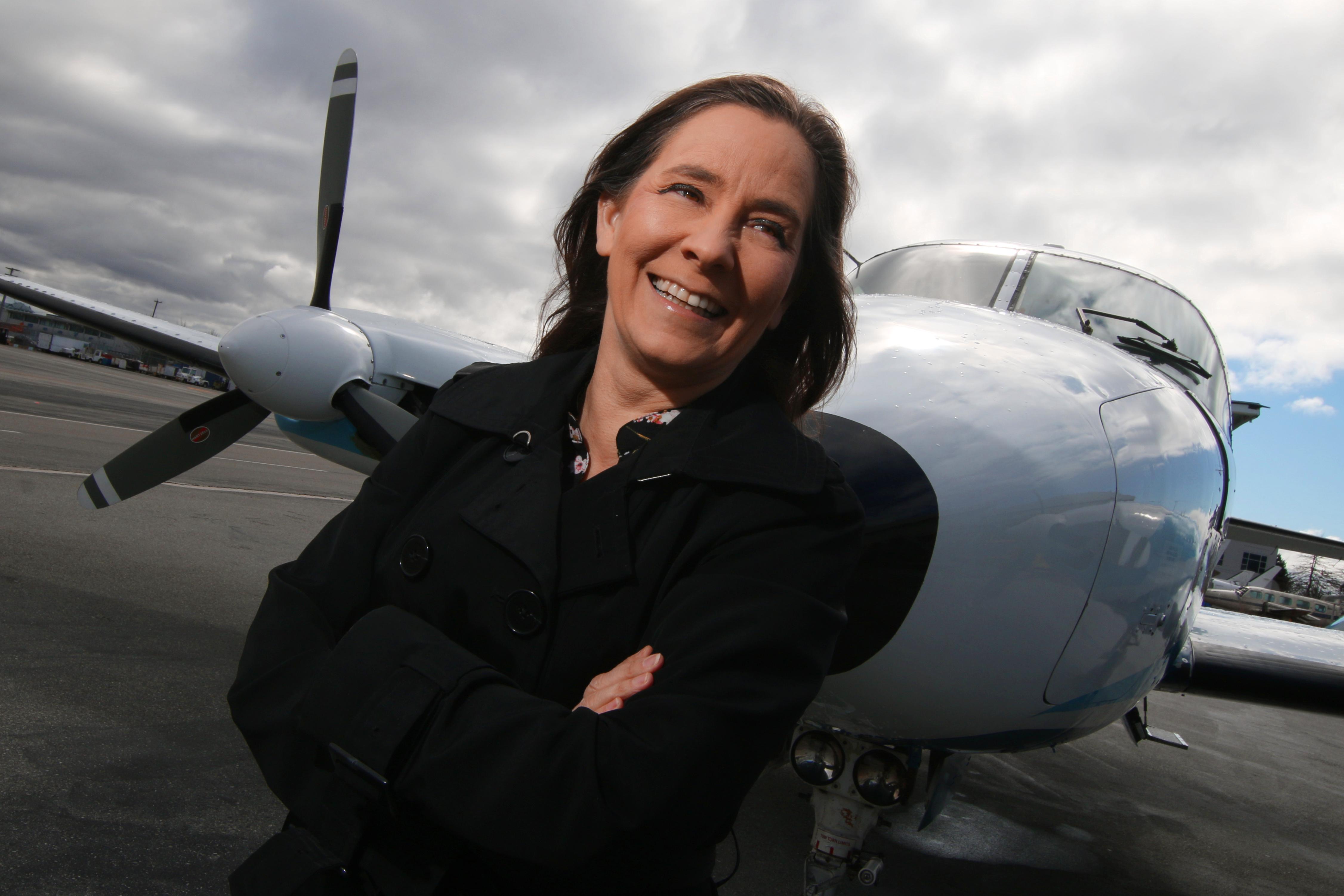 Pilot, leader, proud Metis woman, Teara Fraser
