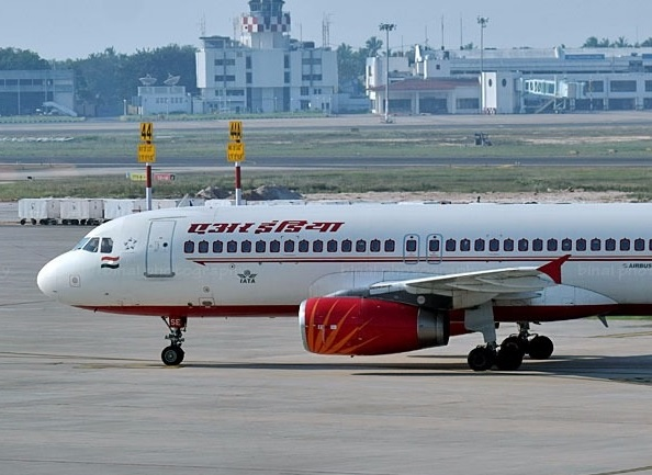 Air India A320 left with 600m to stop after unstable approach