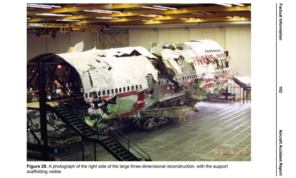 After 25 years, NTSB to dismantle TWA 800 reconstruction