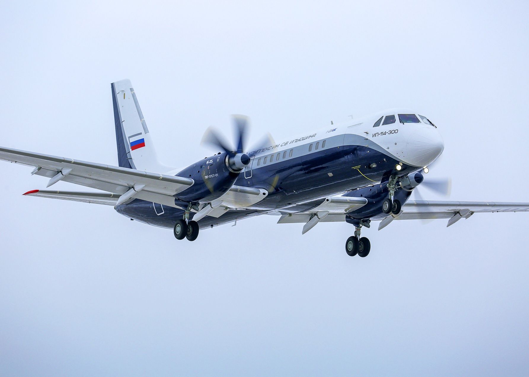 Il-114-300's first lift-off marks second Russian maiden flight in two days