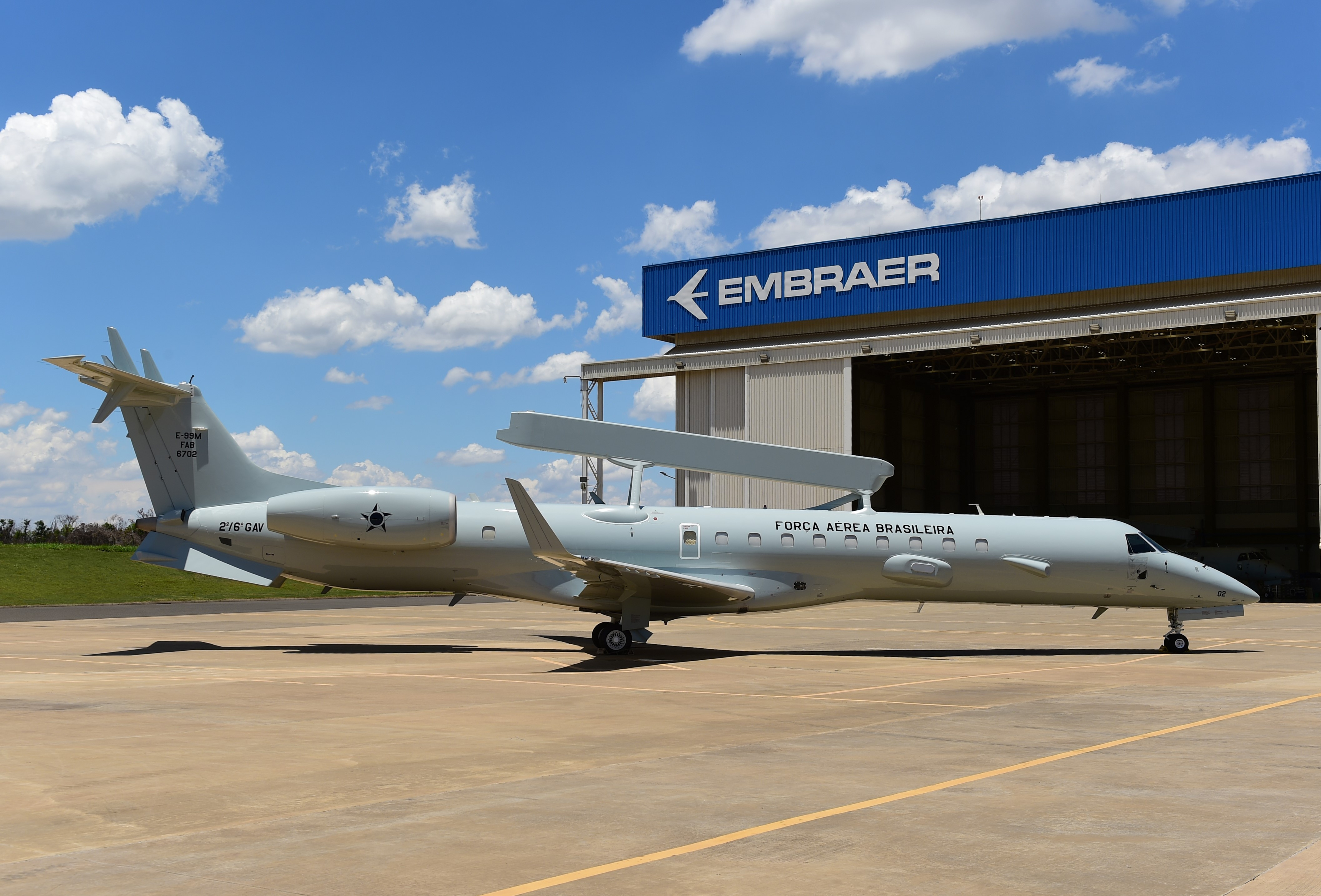 Brazil boosts AEW&C capability with upgraded Embraer E-99M