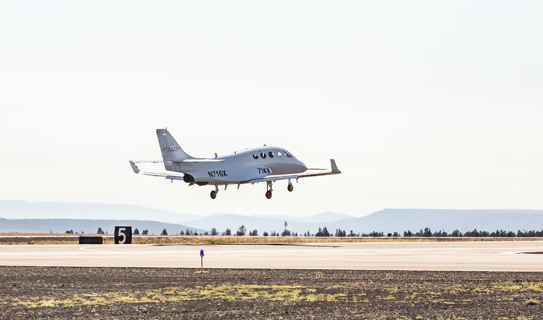 Stratos 716X makes maiden sortie