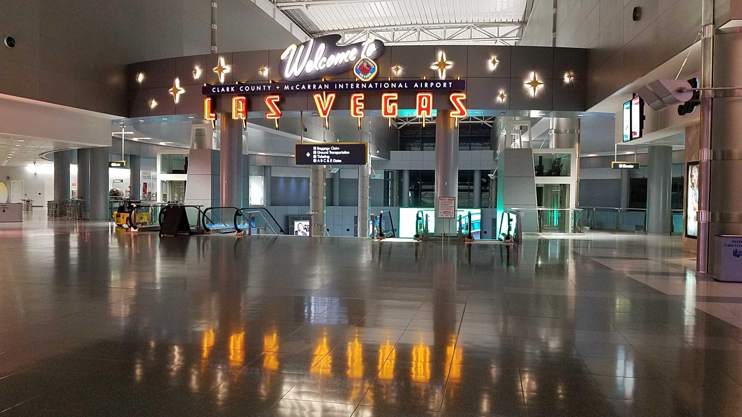 Las Vegas McCarran airport to be renamed after former US senator Harry Reid